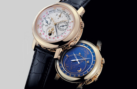 Модель The Sky Moon Tourbillon от Patek Philippe