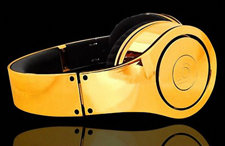 Наушники Dr. Dre Beats Studio Gold от Crystal Rock