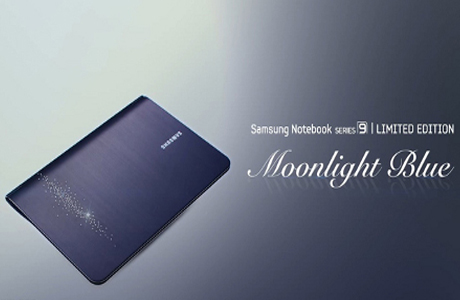 Samsung Series 9 Limited Edition Crystal-Studded Moonlight Blue