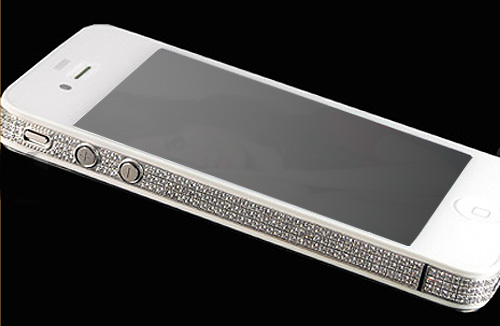 iPhone 4S Diamond & Platinum Edition