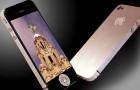 Polished Rose Gold & Diamonds iPhone 4