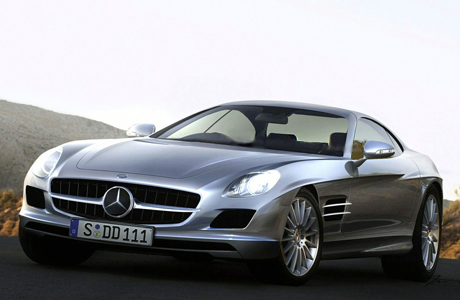 Mercedes-Benz SLC суперкар