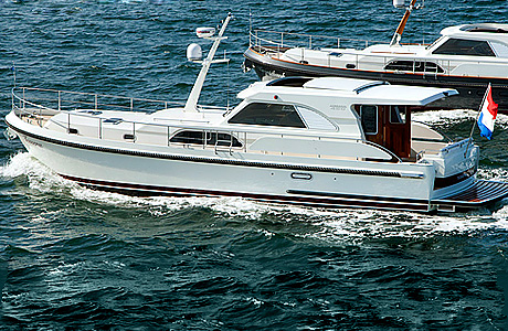 Linssen Range Cruiser 430 Sedan Variotop