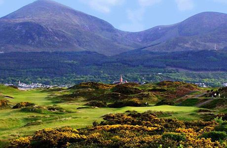 Поле для гольфа Royal County Down Golf Club