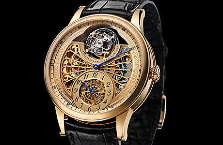 L.Leroy представил Osmior Skeleton Tourbillon Regulator