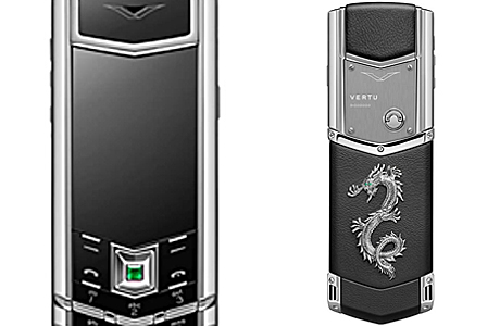 Стальной телефон Vertu Signature Dragon