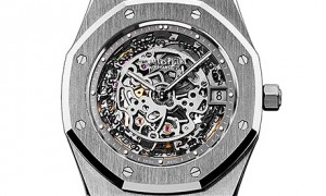 Extra-Thin Openworked Royal Oak 40th Anniversary