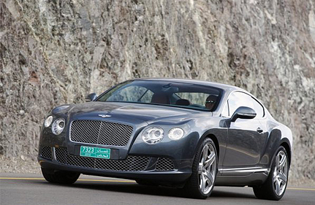 Bentley Continental GT в Детройте