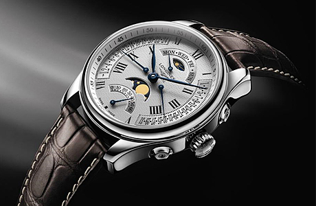 Часы Longines Master Collection Retrograde Moonphases