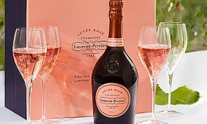 Laurent Perrier Cuvee Rose для романтиков