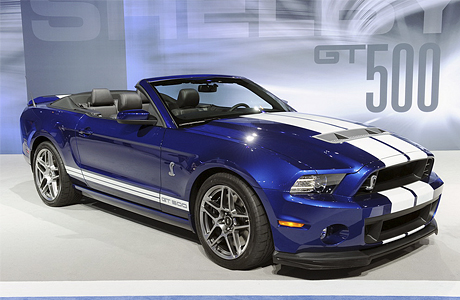 Кабриолет Ford Mustang Shelby GT500