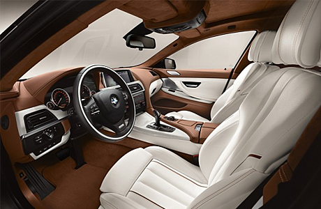 Новости: 6-Series Gran Coupe салон