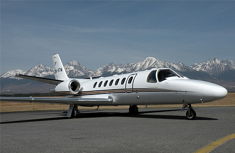 Самолет Cessna 560 Citation
