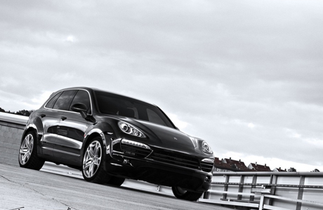 The Kahn Posche Cayenne