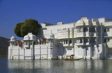 Taj Lake Palace в Индии