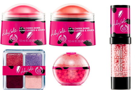 коллекция The Body Shop  лето 2012