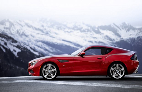 Суперкар BMW Z4 Zagato Coupe