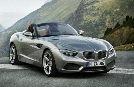 Суперкар BMW Zagato Roadster