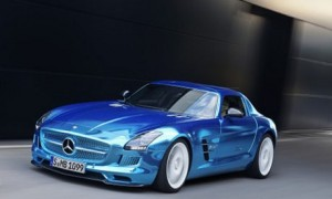 Электрокар SLS AMG Coupe Electric Drive 2014