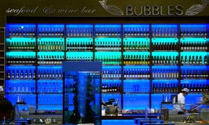 Ресторан-казино Bubbles Seafood & Wine Bar