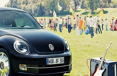 Volkswagen презентует: Beetle Fender Edition