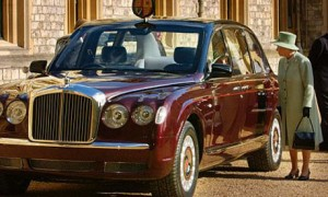 Королева и ее Bentley Arnage Red Label