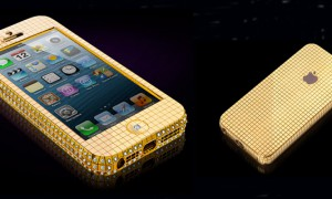 iPhone 5 серии Solid Gold Superstar