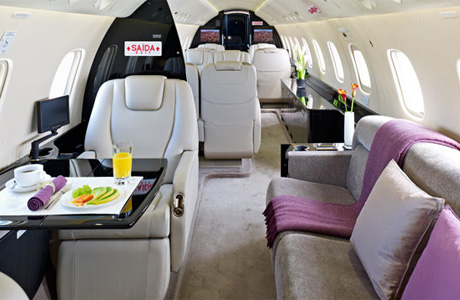 Салон Embraer Legacy 600 Executive