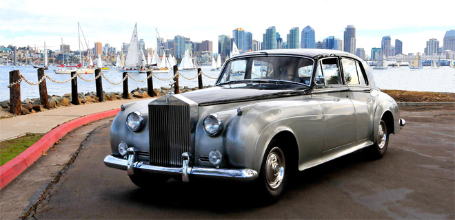 Rolls-Royce Silver Cloud, 1955 год