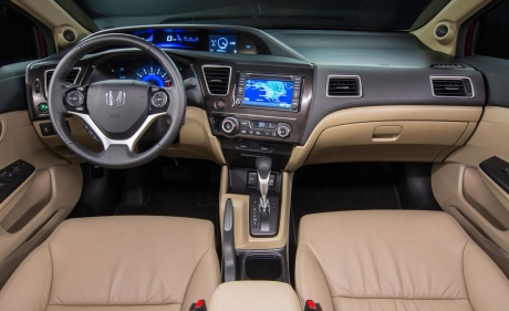 Салон Honda Civic 2013
