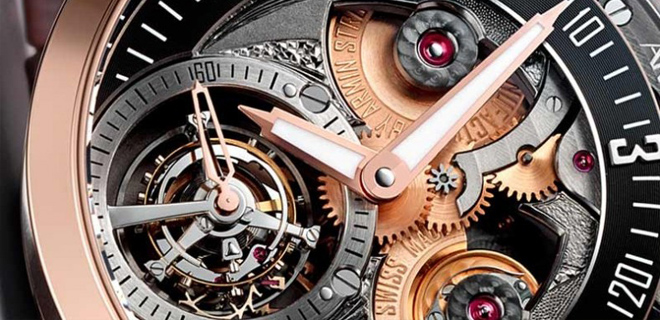 Часы Tourbillon Gravity Fire