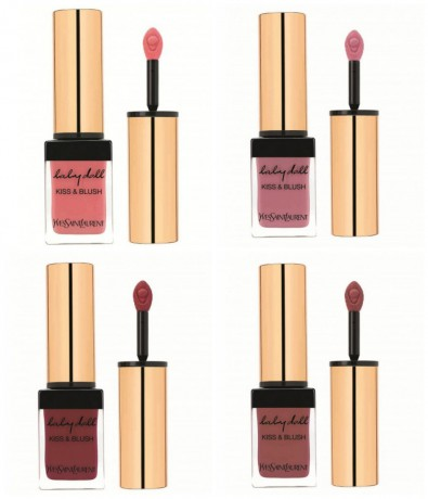 Yves Saint Laurent для губ и щек Babydoll Kiss and Blush