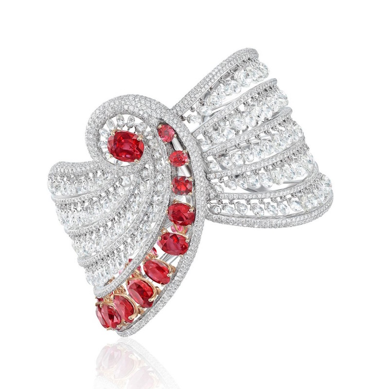 Boghossianбраслет Reverence ruby and diamond bracelet