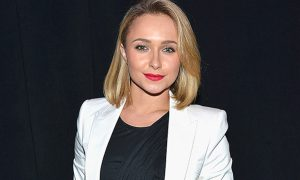 NEW YORK, NY - FEBRUARY 01:  Actress Hayden Panettiere attends Time Warner Cable Studios and Revolt Bring the Music Revolution event on February 1, 2014 in New York City.  (Photo by Eugene Gologursky/Getty Images for Time Warner Cable)